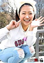 すっぴん激カワ美少女と3Pセックス