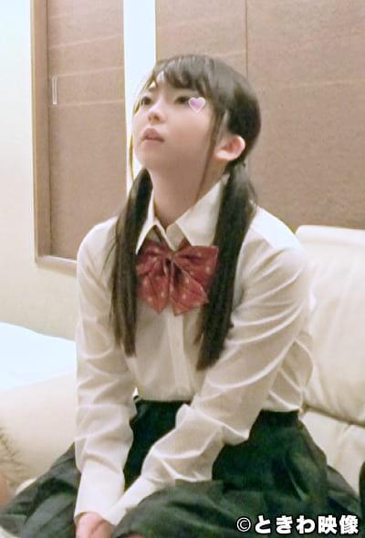 ちっぱい激カワセフレと制服着たままツンデレSEXの動画!最初は「イヤよ」だったけどやっぱりおじさんのチ〇ポは・・・