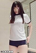 上京中の地方娘はブルマ姿でおっさんのデカチンで再び初心マンコをかき回された!