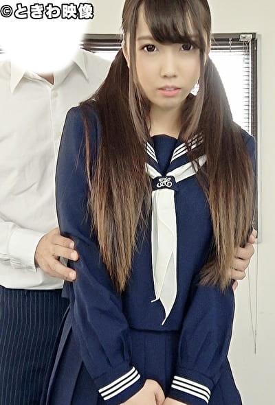 先生になってきつ~いエッチな指導!セーラー服が似合う巨乳J●にパイズリとビュービュー潮吹きまくりSEX!