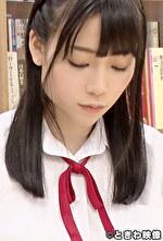図書室で勉強している秀才J〇 パンツずらしてオマンコを露にしSEXを迫る!もちろん断らず最後は中出し!