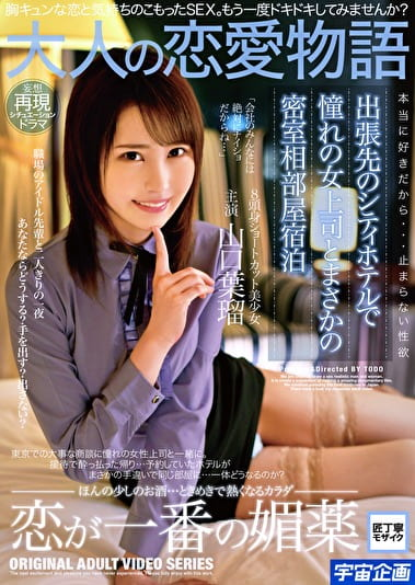 出張先のシティホテルで憧れの女上司とまさかの密室相部屋宿泊 山口葉瑠